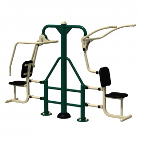 Combo Pull Down Challenger & Seated Chest press