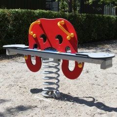 Squid Spring Seesaw