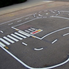Thermo Plastic Playground Markings