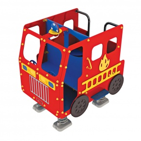 Fire Engine with Springs